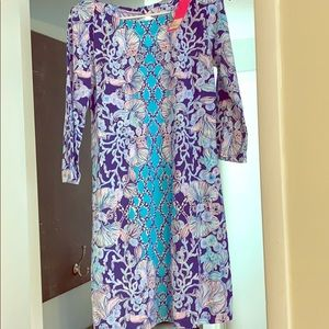 Lilly Pulitzer Your Biggest Fan Engineer Dress